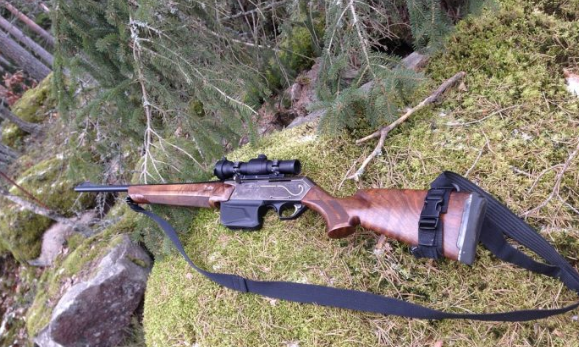rifle for hunting